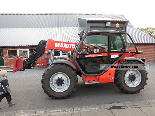 Manitou Mlt 731 Turbo 2006 Telescopic Lift Truck Photo And Specs