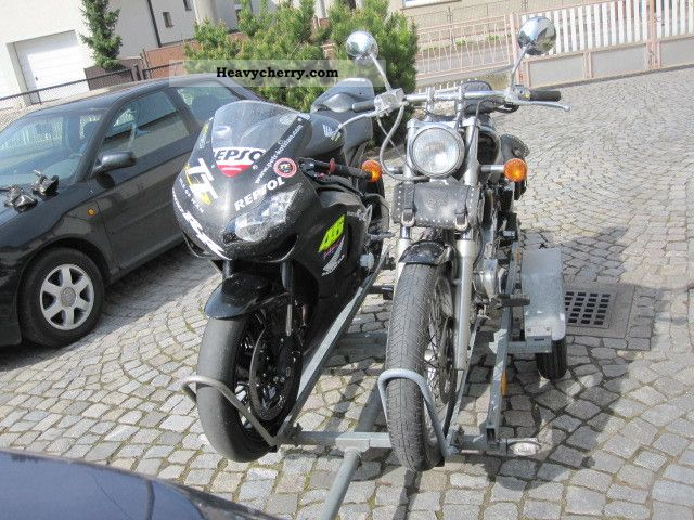 1979 Heinemann  M450 Trailer Motortcycle Trailer photo