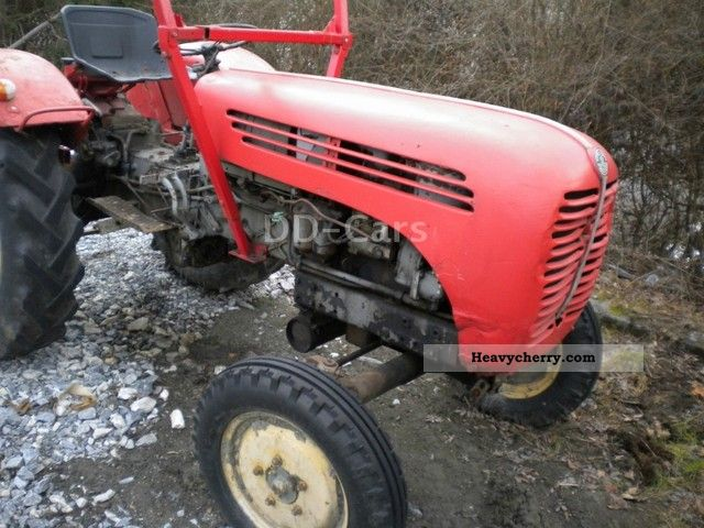 1962 Steyr  T84 Agricultural vehicle Tractor photo