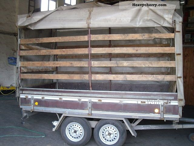 1991 Bunge  Anh open box with tarpaulin Trailer Trailer photo