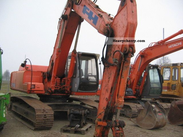 2002 Hitachi  EX 255 Construction machine Caterpillar digger photo
