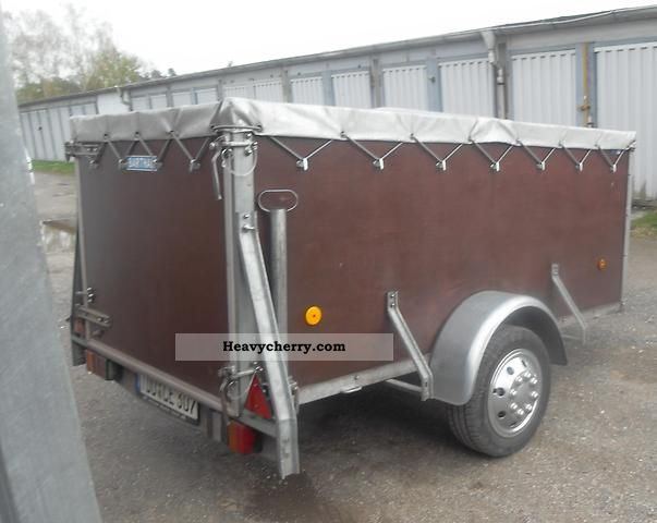 2007 Barthau  Open box with tarpaulin Trailer Trailer photo