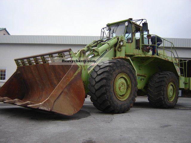 1994 Terex  BIG LOADER / DOZER C 90 / 6.5 m3 / rock bucket Construction machine Wheeled loader photo