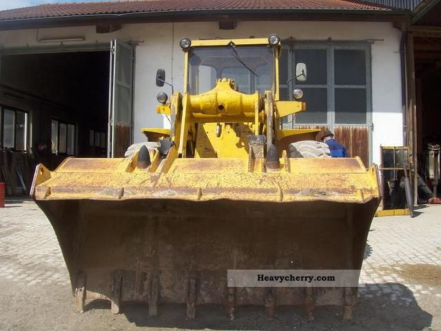 1975 Hanomag  55 C Construction machine Wheeled loader photo