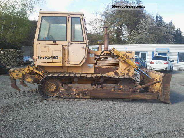 1983 Hanomag  D 400 D, good condition Construction machine Dozer photo