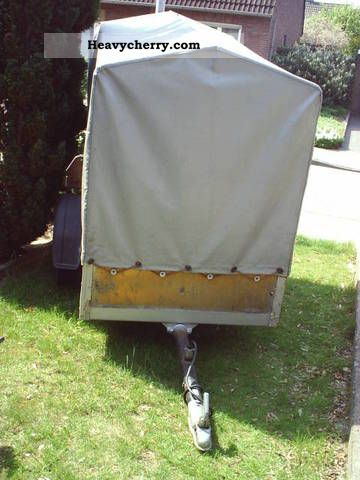 1975 Westfalia  Tarpaulin + tarpaulin Trailer Trailer photo