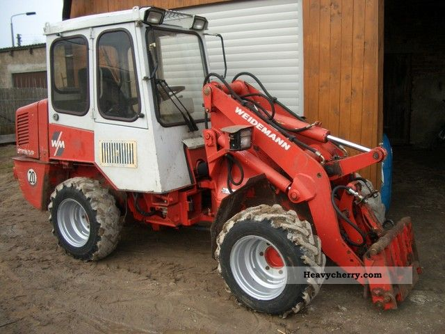 1998 Weidemann  DP 1904 Agricultural vehicle Farmyard tractor photo