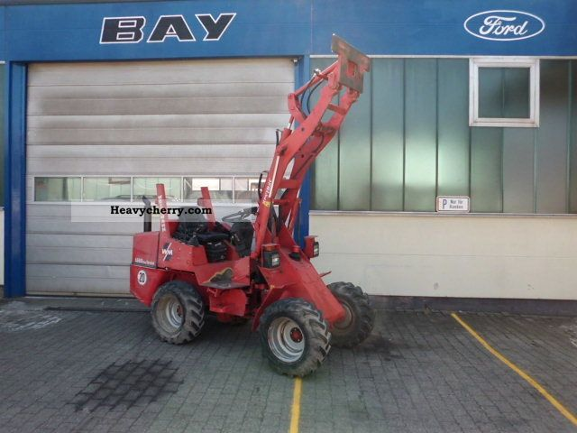 2002 Weidemann  1340P43 special Agricultural vehicle Other agricultural vehicles photo