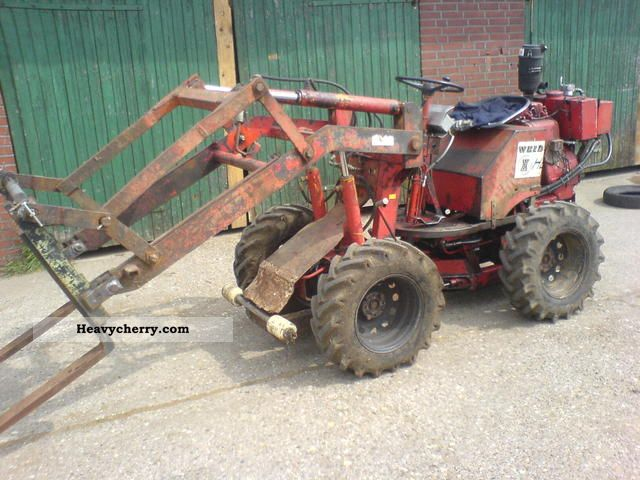 1980 Weidemann  Loader pallet fork more accessories Agricultural vehicle Farmyard tractor photo