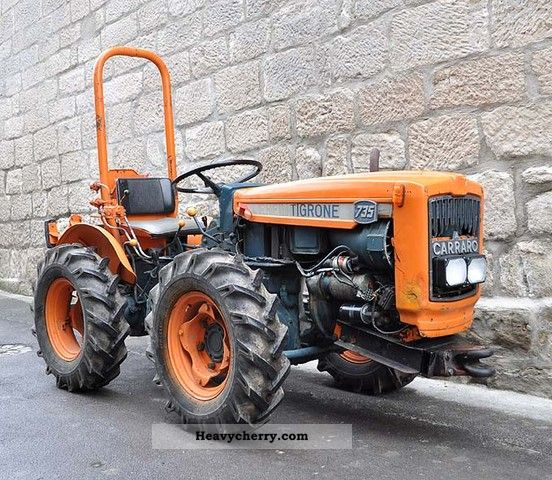 1973 Carraro  735 narrow gauge wheel tractor Agricultural vehicle Tractor photo