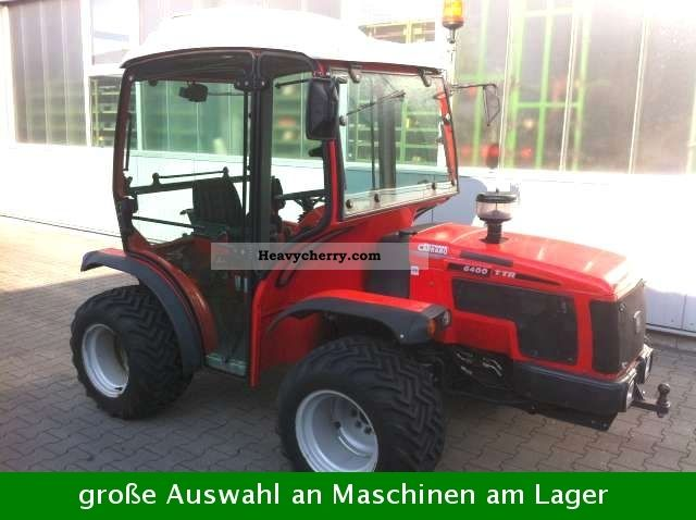 2003 Carraro  6400TTR Agricultural vehicle Tractor photo
