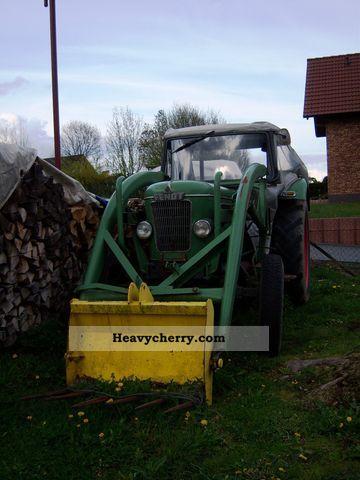 1966 Fendt  Xavier Agricultural vehicle Front-end loader photo