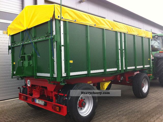 2012 Kroeger  Tipper split tailgate Internal No. 9999 Trailer Three-sided tipper photo