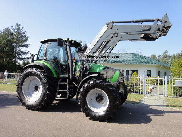 2005 Deutz-Fahr  Agrotron 165.7 loader quickie Q 65 4DW Agricultural vehicle Front-end loader photo