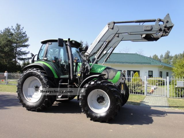 2005 Deutz-Fahr  Agrotron 165.7 loader quickie Q 65 4DW Agricultural vehicle Tractor photo
