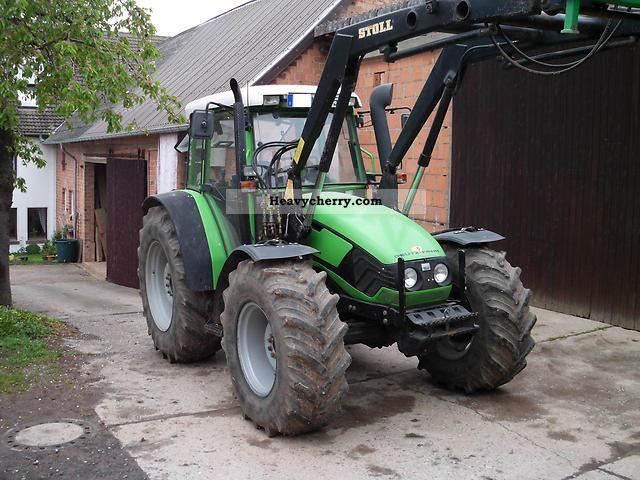 1999 Deutz-Fahr  Agroplus 75 Agricultural vehicle Tractor photo