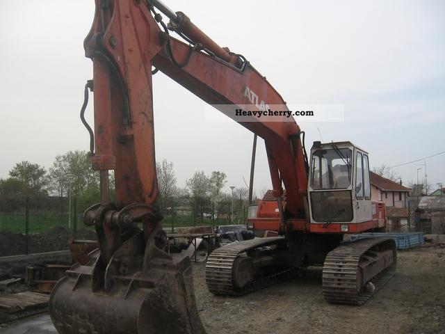 1992 Atlas  1804 LC Construction machine Caterpillar digger photo