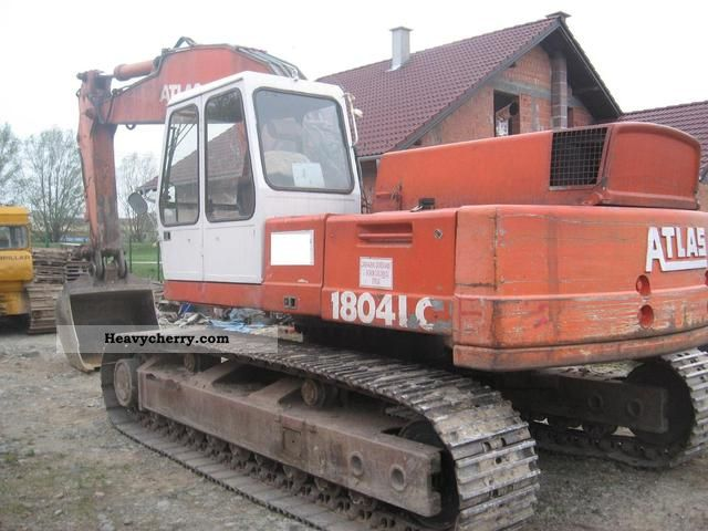 Atlas 1804 Lc 1992 Caterpillar Digger Construction