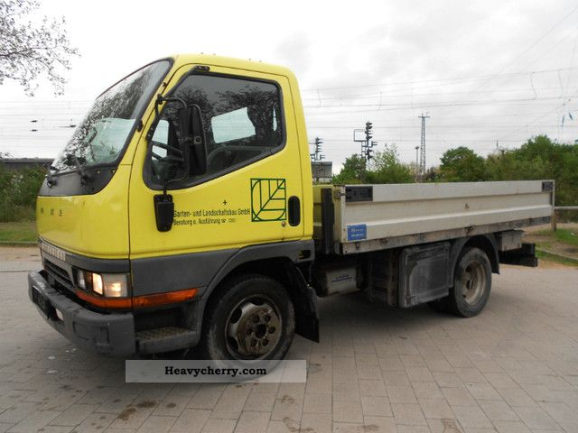 1998 Mitsubishi  Canter Alupritshe 3.500kg 110TKm-top condition Van or truck up to 7.5t Stake body photo