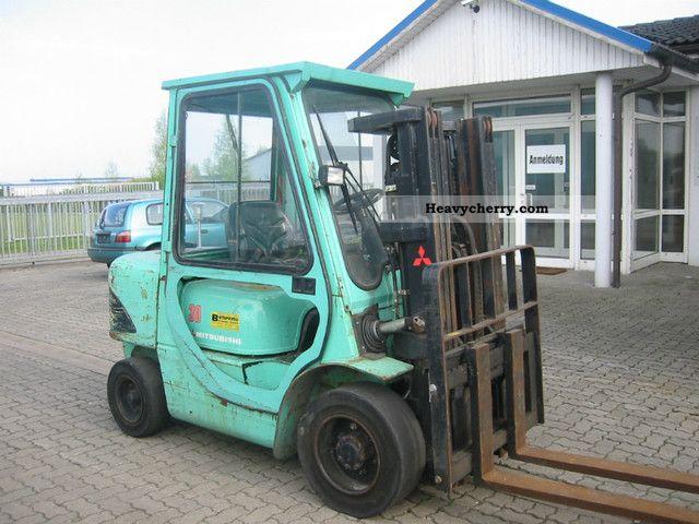 2002 Mitsubishi  FD 30K Diesel Forklift Forklift truck Front-mounted forklift truck photo