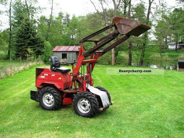 1978 Weidemann  DD 130 Agricultural vehicle Farmyard tractor photo