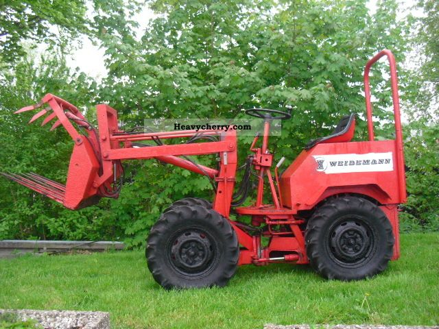 Weidemann 110 Dr 1978 Agricultural Farmyard Tractor Photo