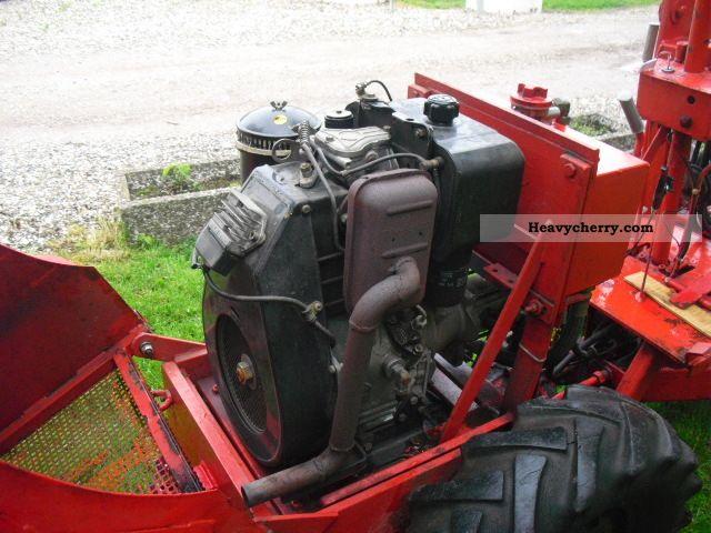 Weidemann 110 Dr 1978 Agricultural Farmyard Tractor Photo