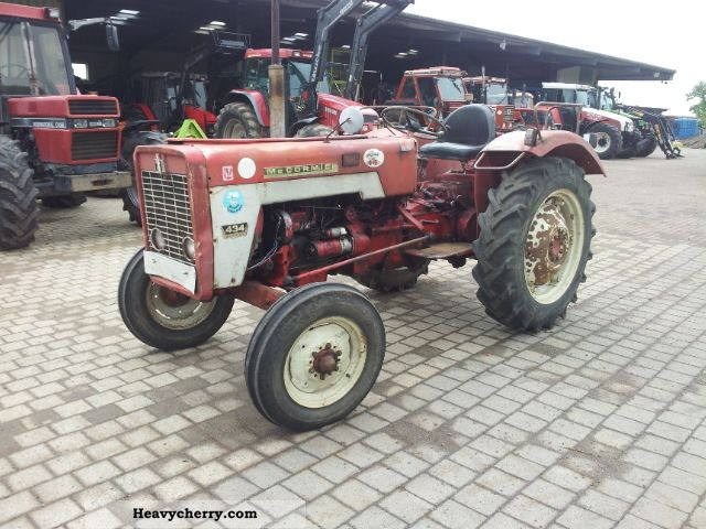 1967 Case  434 Agricultural vehicle Tractor photo