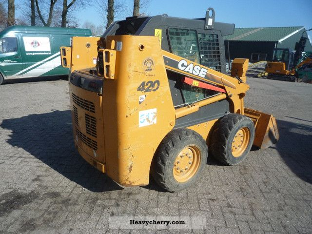 2007 Case  420 Construction machine Wheeled loader photo