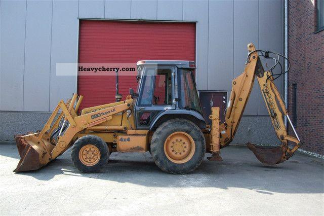 1997 Case  580 SLE Construction machine Combined Dredger Loader photo