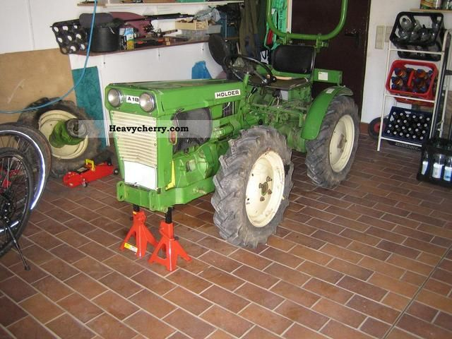 1977 Holder  A16 Agricultural vehicle Tractor photo