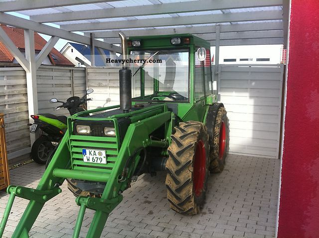2011 Holder  A60 Agricultural vehicle Tractor photo