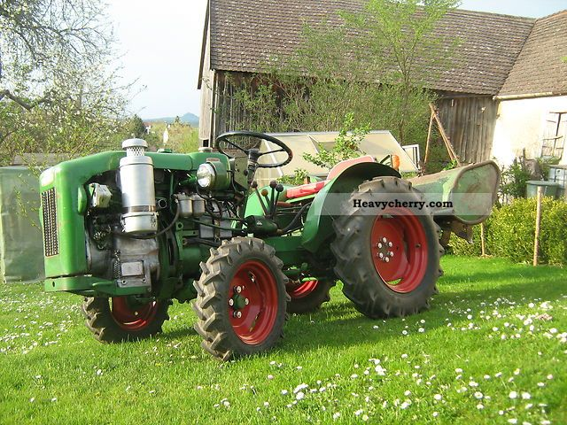 1968 Holder  Agria 4800 Agricultural vehicle Tractor photo