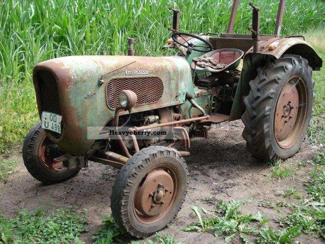 1960 Guldner  Güldner Burgundy Agricultural vehicle Tractor photo