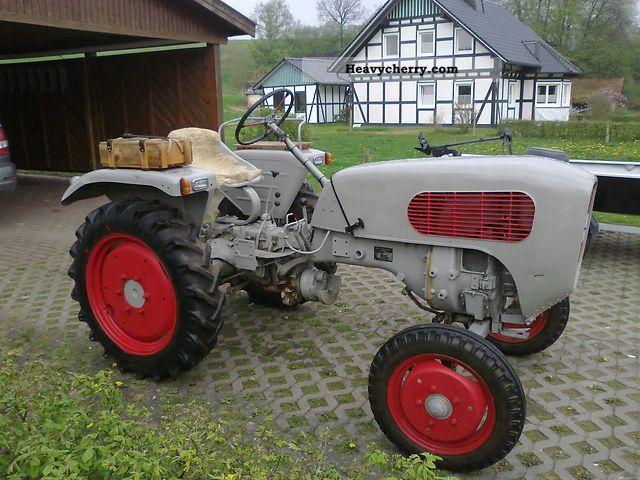 1958 Guldner  Güldner AX8 Agricultural vehicle Tractor photo
