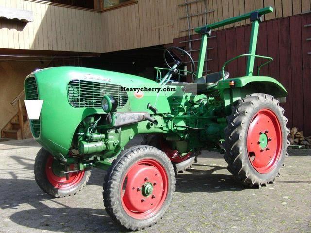 1959 Guldner  Güldner AX8 Agricultural vehicle Tractor photo