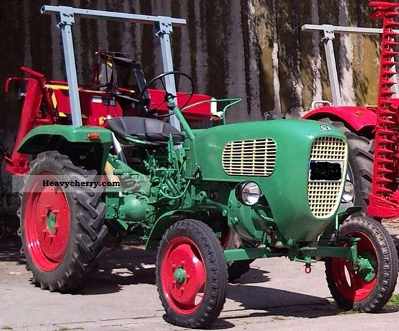 1958 Guldner  Güldner AK8 Agricultural vehicle Tractor photo