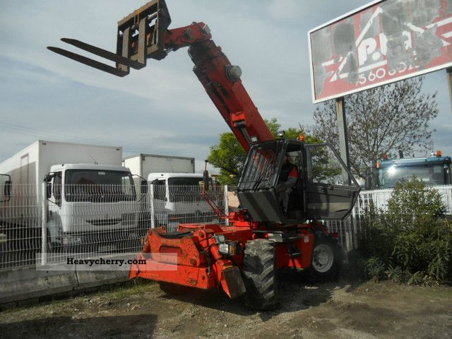 2011 Manitou  MRI 1540 Forklift truck High-bay rack photo
