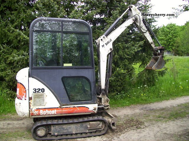 2001 Bobcat  320 Construction machine Mini/Kompact-digger photo