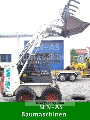 1992 Bobcat  641 Construction machine Wheeled loader photo