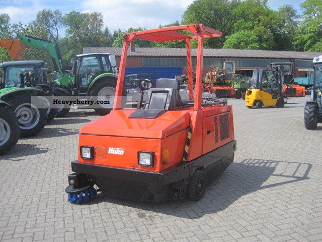 1992 Hako  Sweeper 1700 Construction machine Other construction vehicles photo