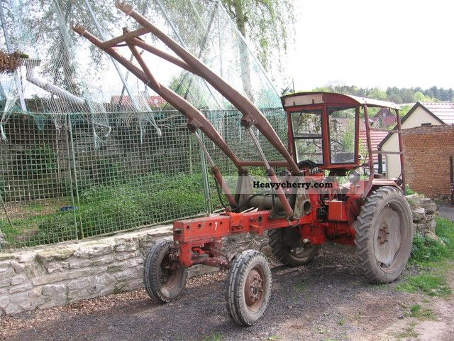 1972 Fortschritt  RS09 engine new GT124 MTS ZT Agricultural vehicle Tractor photo