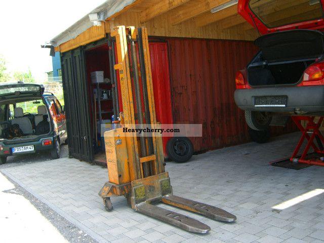 1973 Sichelschmidt  dixi 1250 D4 * New battery * Forklift truck Other forklift trucks photo