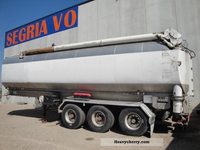 1992 Menci  Indox aluminum tank Semi-trailer Tank body photo