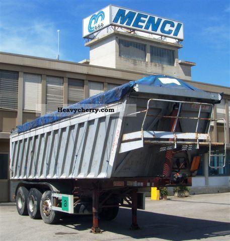1998 Menci  Zorzi, 37 S Semi-trailer Tipper photo