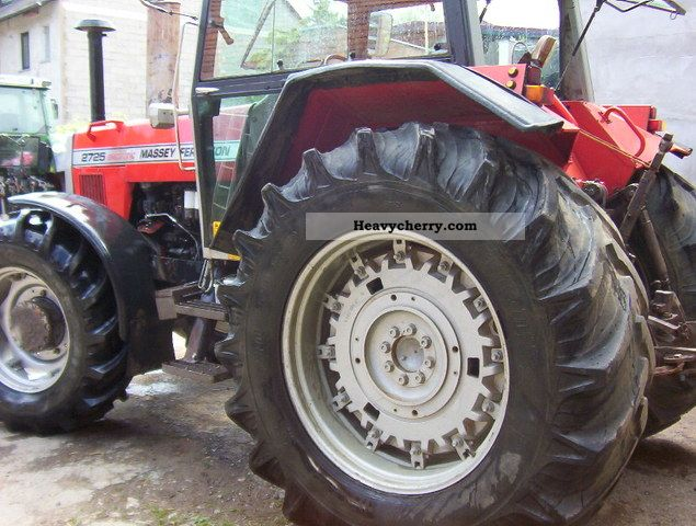 Massey Ferguson 2725 1987 Agricultural Tractor Photo And Specs