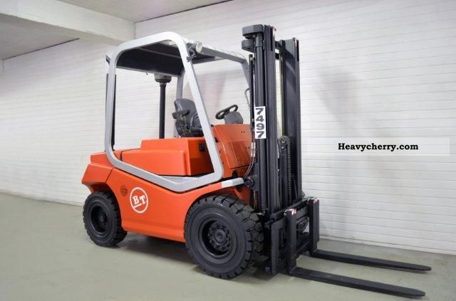 2004 BT  CBD 50, SS, FREE LIFT ONLY 1620Bts! Forklift truck Front-mounted forklift truck photo