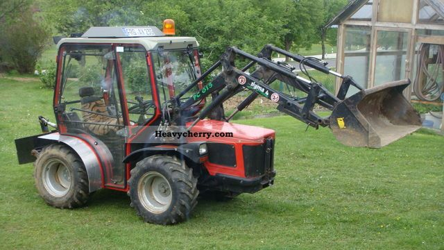 1996 Carraro  HST 3800 Front Snowblower 4 chains, etc. Agricultural vehicle Tractor photo