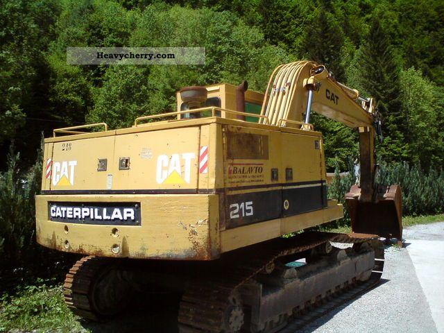 1990 CAT  CLC 215 Construction machine Caterpillar digger photo
