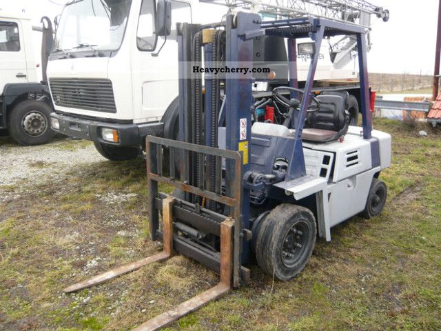 1993 Komatsu  Fuel-gas shift 3.5t page Forklift truck Front-mounted forklift truck photo